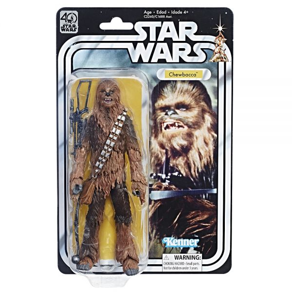 Star Wars The Black Series 40th Anniversary Chewbacca Actionfigur
