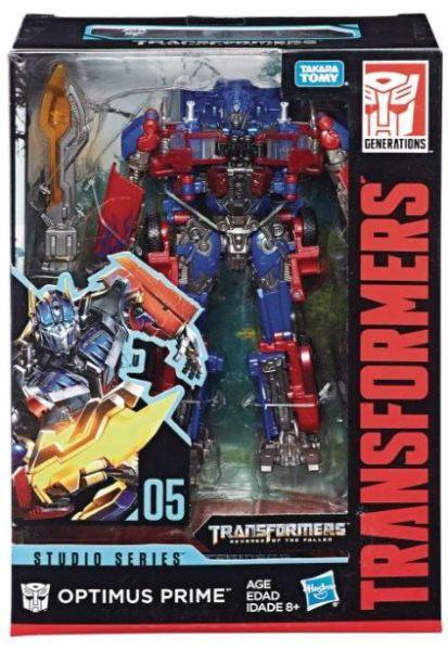TRANSFORMERS GENERATIONS STUDIO SERIES VOYAGER CLASS OPTIMUS PRIME ACTIONFIGUR