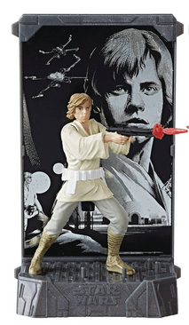 STAR WARS BLACK SERIES DIE-CAST TITANIUM LUKE SKYWALKER FIGUR