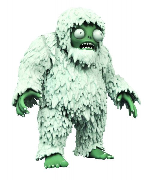 PLANTS VS ZOMBIES DLX YETI ACTIONFIGUR