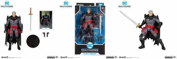 DC Multiverse Flashpoint Thomas Wayne Unmasked Batman Variant 18 cm Actionfigur