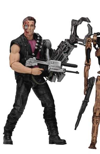 TERMINATOR KENNER TRIBUTE POWER ARM T-800 17,5 cm ACTIONFIGUR