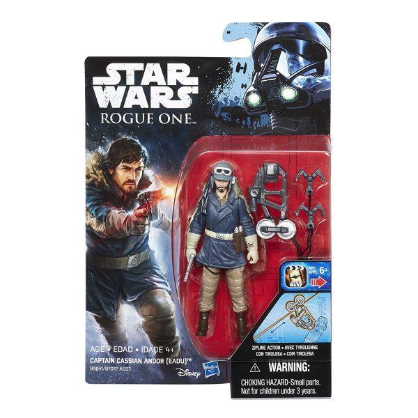 Star Wars Rogue One Captain Cassian Andor (Eadu) 10cm Actionfigur