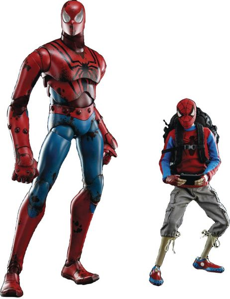3A X MARVEL PETER PARKER SPIDER-MAN 1/6 ACTIONFIGUR RETAIL EDITION