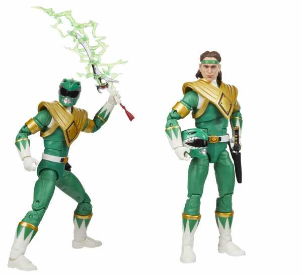 Power Rangers Lightning Collection Mighty Morphin Green Ranger 6 Inch Actionfigur