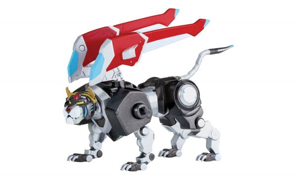 VOLTRON LEGENDARY DEFENDER DIE-CAST BLACK LION ACTIONFIGUR