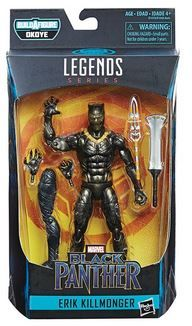 BLACK PANTHER LEGENDS 15 cm ERIK KILLMONGER ACTIONFIGUR