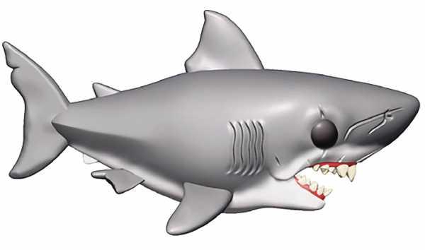 POP MOVIES 15 cm JAWS VINYL FIGUR