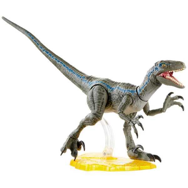 Jurassic World Velociraptor Blue 6 Inch Scale Amber Collection Actionfigur