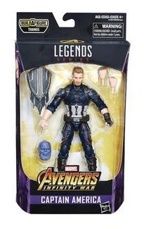 AVENGERS INFINITY WAR LEGENDS 15 cm CAPTAIN AMERICA ACTIONFIGUR ohne BAF-Teil