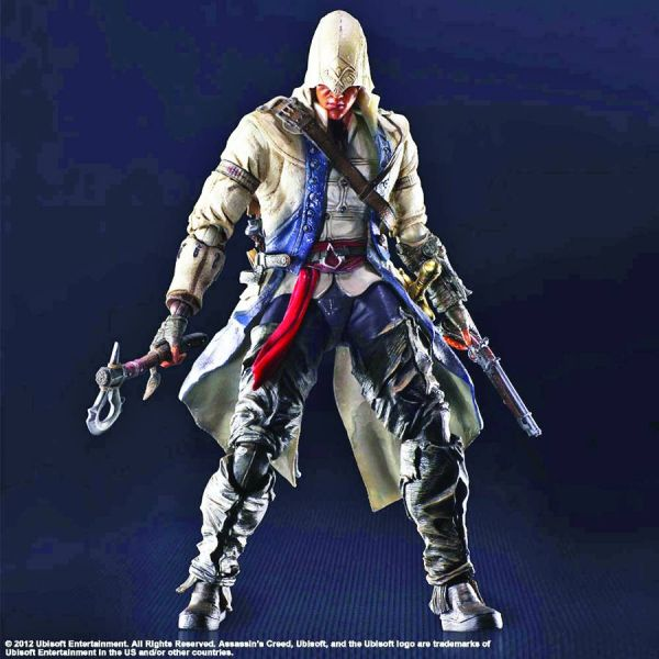 ASSASSINS CREED III PLAY ARTS KAI CONNOR ACTIONFIGUR