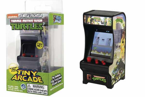 VORBESTELLUNG ! TINY TEENAGE MUTANT NINJA TURTLES ARCADE GAME
