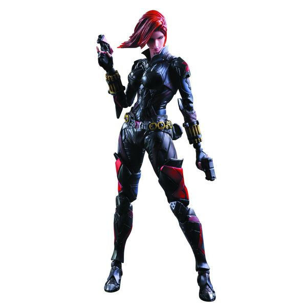 MARVEL UNIVERSE VARIANT PLAY ARTS KAI BLACK WIDOW ACTIONFIGUR
