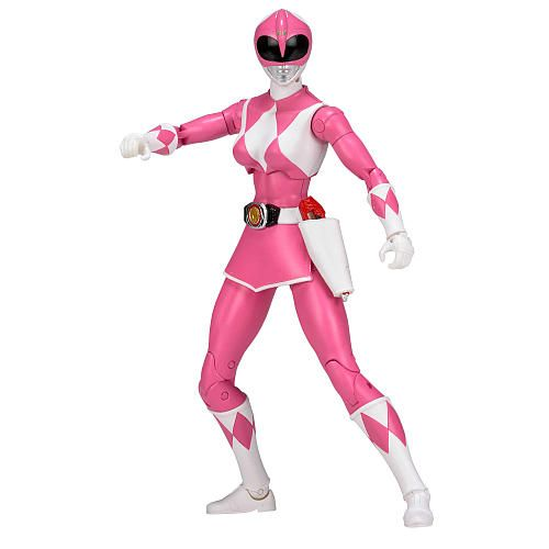 POWER RANGERS LEGACY MIGHTY MORPHIN PINK RANGER 15cm ACTIONFIGUR