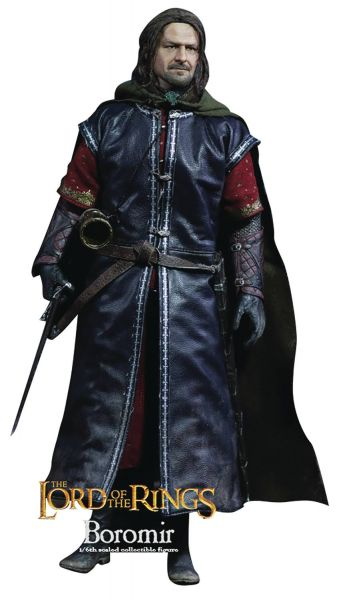 LORD OF THE RINGS BOROMIR 1/6 ACTIONFIGUR WITH ROOTED HAIR