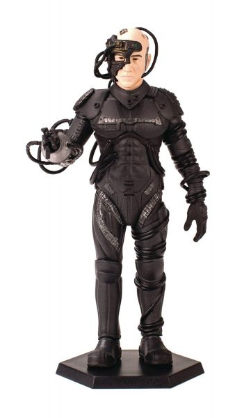 STAR TREK TNG MASTER SERIES LATINUM EDITION LOCUTUS MINI MASTER FIGUR