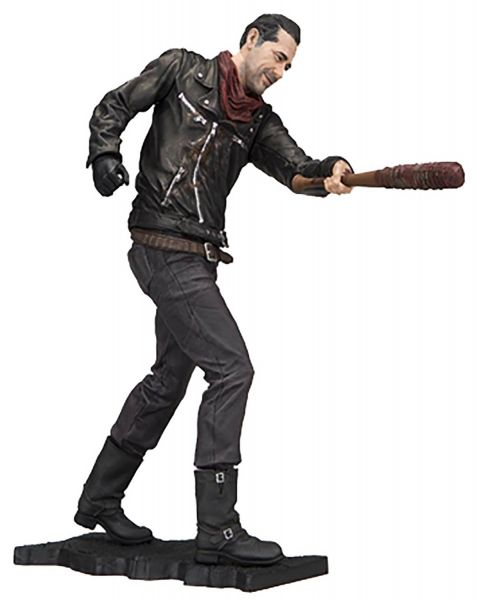 WALKING DEAD TV NEGAN MERCILESS EDITION 25 cm DELUXE ACTIONFIGUR