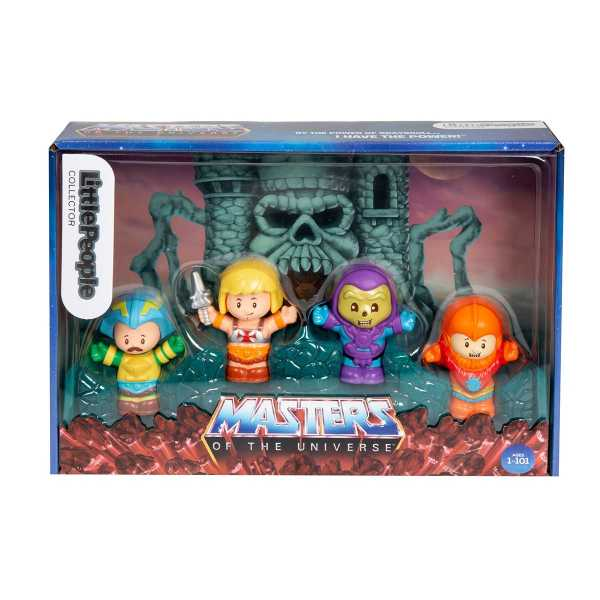 VORBESTELLUNG ! Masters of the Universe Collector Set by Fisher-Price Little People