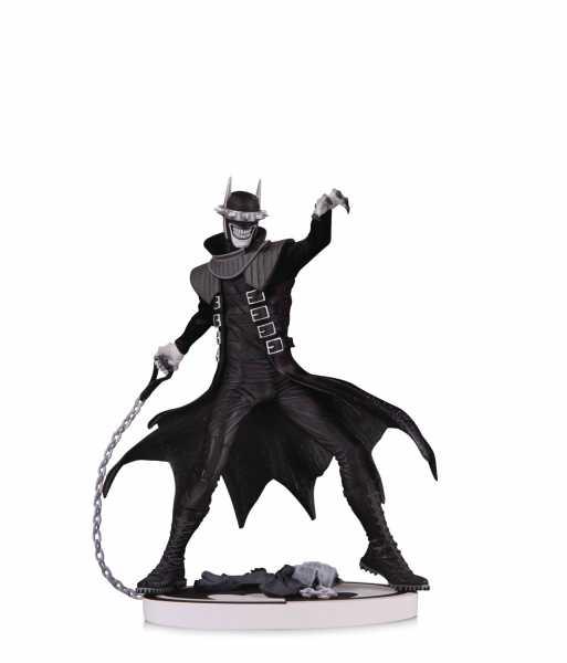 BATMAN BLACK & WHITE BATMAN WHO LAUGHS 2ND EDITION STATUE