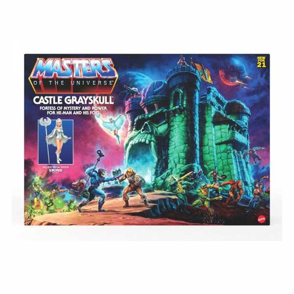 VORBESTELLUNG ! Masters of the Universe Grayskull Playset US Version