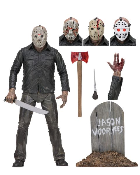 FRIDAY THE 13TH PART V DREAM JASON ULTIMATE 17,5 cm SCALE ACTIONFIGUR
