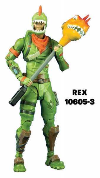 FORTNITE REX 17,5 cm PREMIUM ACTIONFIGUR