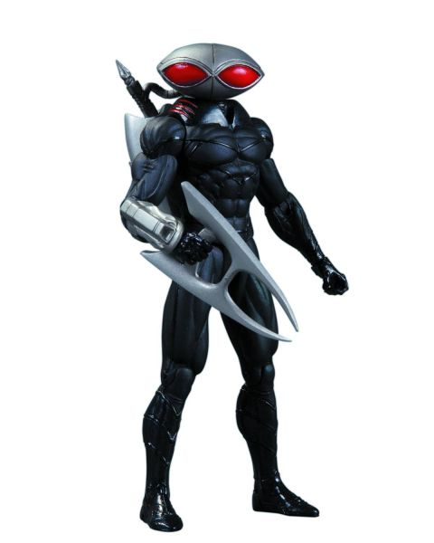 DC COMICS SUPER VILLAINS BLACK MANTA ACTIONFIGUR