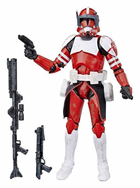 Star Wars The Clone Wars Black Series Clone Commander Fox Exclusive 15 cm Actionfigur