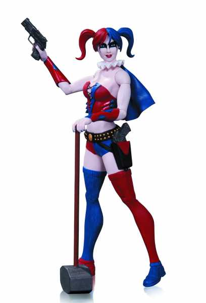 DC COMICS SUPER VILLAINS HARLEY QUINN ACTIONFIGUR