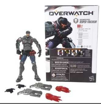 OVERWATCH ULTIMATES REAPER BLACKWATCH REYES 15 cm ACTIONFIGUR