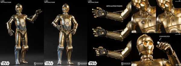 VORBESTELLUNG ! Star Wars 1/6 C-3PO 30 cm Actionfigur