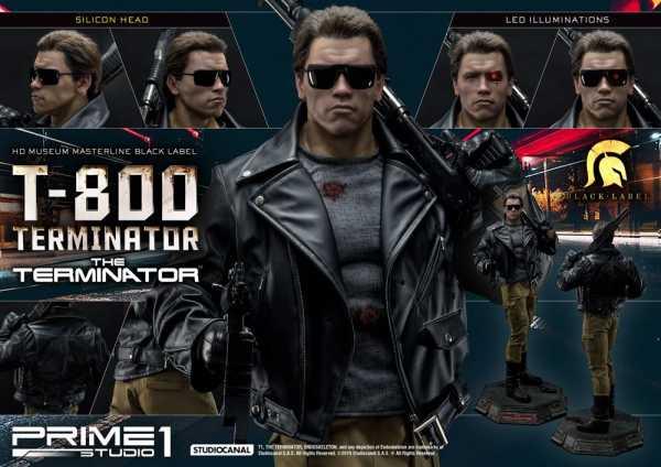 VORBESTELLUNG ! Terminator 1/2 T-800 117 cm Statue DELUXE VERSION