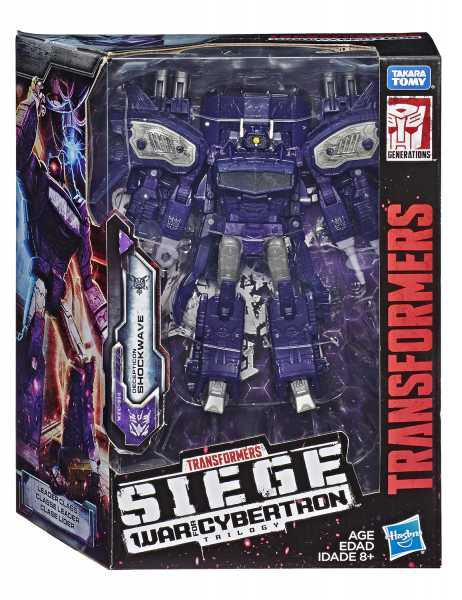 TRANSFORMERS GENERATIONS WAR FOR CYBERTRON: SIEGE LEADER SHOCKWAVE ACTIONFIGUR