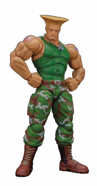 STORM COLLECTIBLES STREET FIGHTER GUILE 1/12 ACTIONFIGUR