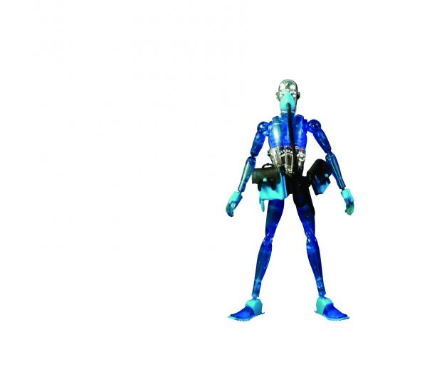 3A STRING DIVER SD07 REX BLUE VERSION 1/12 ACTIONFIGUR
