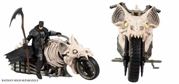 Vorbestellung ! DC Multiverse Batcycle (Dark Nights: Death Metal) Fahrzeug