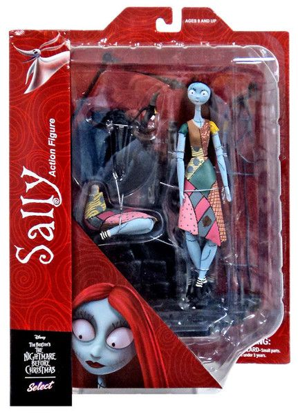 NIGHTMARE BEFORE CHRISTMAS SERIES 1 SALLY ACTIONFIGUR