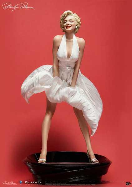 VORBESTELLUNG ! Marilyn Monroe 1/4 Marilyn Monroe Superb Scale Hybrid 46 cm Statue