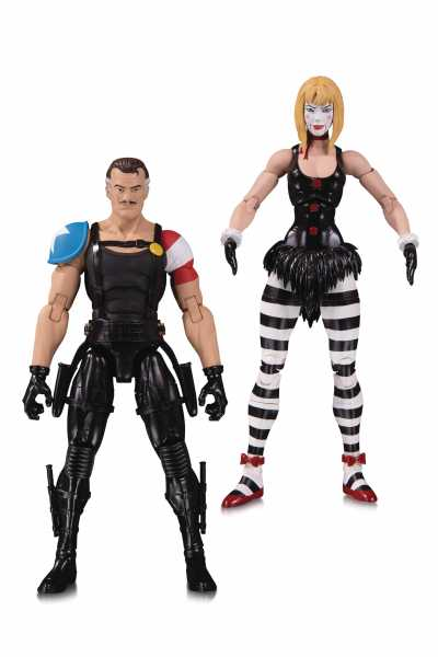 DOOMSDAY CLOCK COMEDIAN MARIONETTE ACTIONFIGUREN 2-PACK