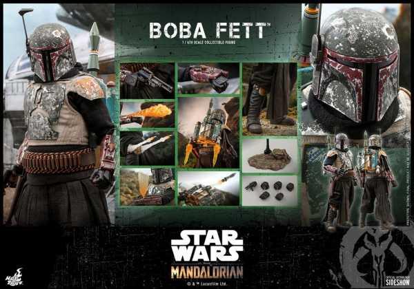 VORBESTELLUNG ! Star Wars The Mandalorian 1/6 Boba Fett 30 cm Actionfigur