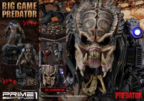 VORBESTELLUNG ! Predator Statue Big Game Predator 70 cm