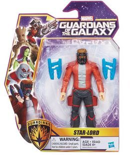 MARVEL GUARDIANS OF THE GALAXY STAR-LORD ACTIONFIGUR