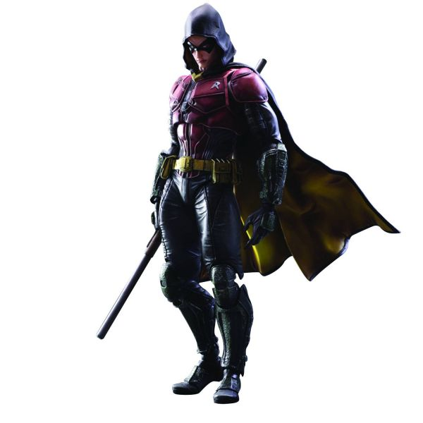 BATMAN ARKHAM KNIGHT PLAY ARTS KAI ROBIN ACTIONFIGUR