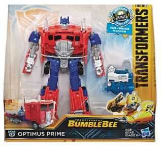 TRANSFORMERS BUMBLEBEE IGNITERS NITRO SERIES OPTIMUS PRIME ACTIONFIGUR