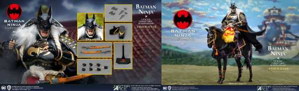 VORBESTELLUNG ! BATMAN NINJA 2.0 SAMURAI 1/6 ACTIONFIGUR DELUXE VERSION WITH HORSE