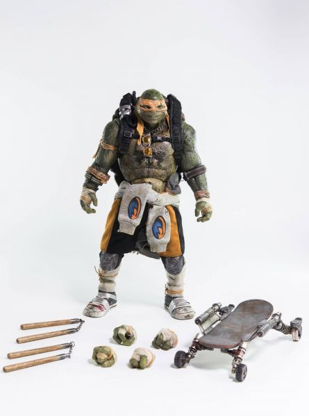 TEENAGE MUTANT NINJA TURTLES OUT OF THE SHADOWS MICHELANGELO 1/6 SCALE ACTIONFGUR