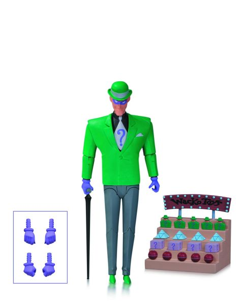BATMAN ANIMATED BAS RIDDLER ACTIONFIGUR