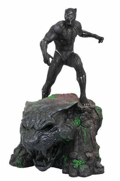MARVEL MILESTONES BLACK PANTHER MOVIE STATUE