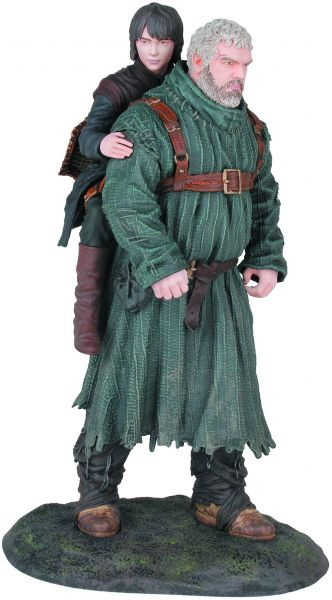 GAME OF THRONES HODOR & BRAN STATUE