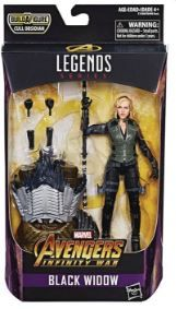 AVENGERS INFINITY WAR LEGENDS 15 cm BLACK WIDOW ACTIONFIGUR ohne BAF-Teil